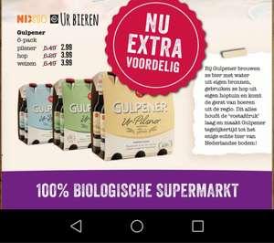 Gulpener speciaalbier sixpacks voor €2,99/€3,99