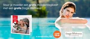 Kortingscode voor Gratis moederdagkaart met dagje Welness t.w.v. €32,68 @ Webprint
