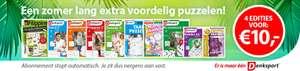 Denksport: 4 edities voor €10