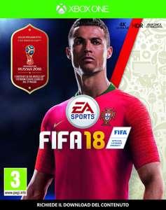 FIFA 18 (Xbox One) voor €14,74 @ Amazon.it