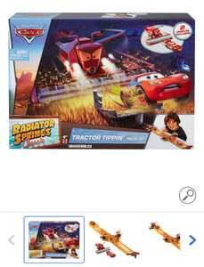 Cars Classic Radiator Springs Tractor Tippin Track Set (incl Frank en McQueen)