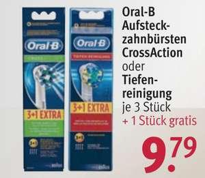 Oral-B Cross / Floss action opzetborstels  3+1 Pack @ Rossmann DE [Grensdeal]