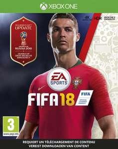 FIFA 18 voor $6/€5,15 @ Xbox Store US