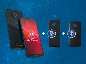 Motorola Moto z3 Play Bundel (gratis Moto Power Pack en Moto Style Shell) - €399 @ Amazon DE