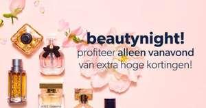 Vanavond hoge kortingen op beautyproducten
