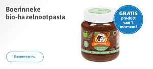 [Grensdeal] Gratis pot biologische chocopasta