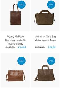Alleen vandaag 50% korting op de gehele collectie van Myomy || Bagageonline