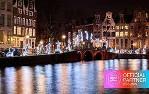 50% korting op een Cruise of VIP boot tijdens de Amsterdam Light Festival Cruise!