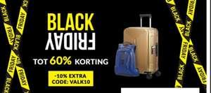 Samsonite Black Friday deals met code VALK10 10% extra korting