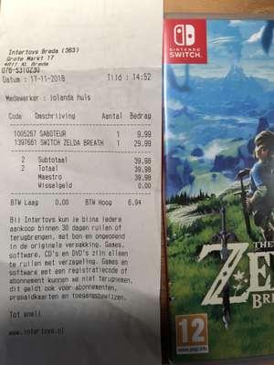 Zelda: Breath Of The Wild Nintendo Switch