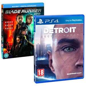 Detroit: Become Human PS4 + Blu-ray Blade Runner 204 voor €17,85 @ ShopTo