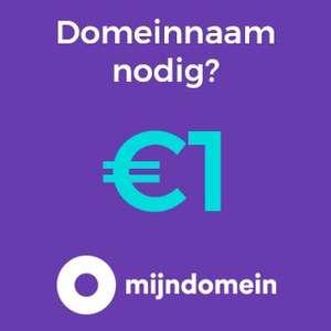 Domeinnaam 1 euro + gratis pakket