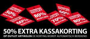 Actie: 50% EXTRA korting op outlet @ Voorwinden