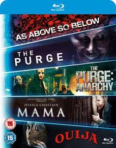 Mama/The Purge/The Purge: Anarchy/Ouija/As Above, So Below (Box Set) [Blu-ray] voor €11,15