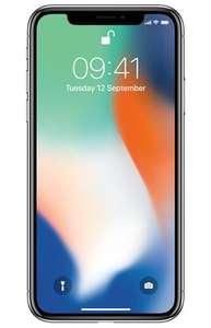 Iphone X zilver 64GB