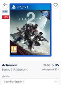 PS4 game/Xbox one,  Destiny 2 nu voor 6.95€ bij Wehkamp