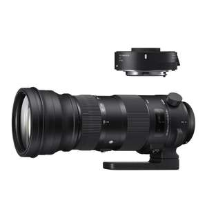 Sigma 150-600mm f/5.0-6.3 DG OS HSM Sports Nikon + TC-1401 voor €629 @ Cameraland.nl