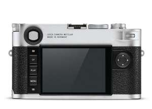 Leica M10 Body Silver voor €4475 @ Cameraland.nl