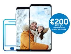 (BE) 200 euro extra inruilwaarde bij aankoop van een Samsung Galaxy S9 of S9 Plus