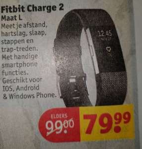 Fitbit charge 2 bij de kruidvat