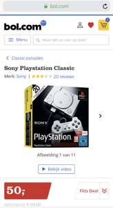 Flits Deal: Sony PlayStation Classic