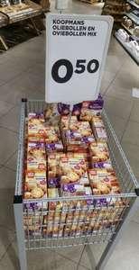 De bekende oliebollen en oviebollen mix van Koopmans voor €0,50 @ Jumbo