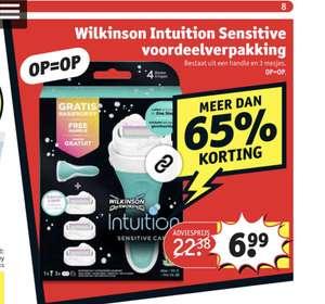 Wilkinson voordeelverpakking 6,99 @Kruidvat