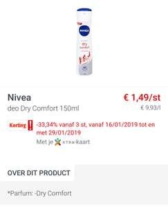 [Grensdeal België] Gratis Nivea en super goedkope Nivea