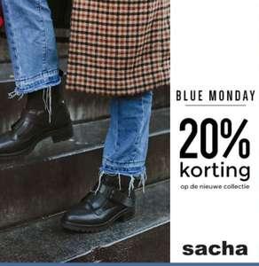 Blue Monday actie: 20 % korting op de gehele nieuwe collectie.