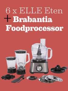 6x Elle Eten tijdschrift plus Brabantia Foodprocessor  BBEK1113B
