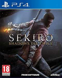 Sekiro: Shadows Die Twice (PS4/One) (pre-order) voor €45,55 @ Amazon.fr