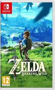 Zelda Breath of the wild Switch @Amazon.es