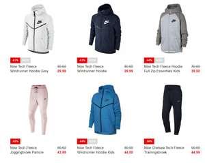 Nike Tech Fleece tot 63% korting @ Voetbalshop
