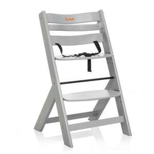 Blokker dagdeal Baninni Scala Kinderstoel - Licht Grijs van 64,90 voor 50 euro