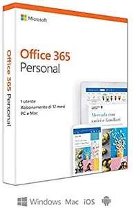 Microsoft Office 365 Personal 1 jaar @Amazon.it