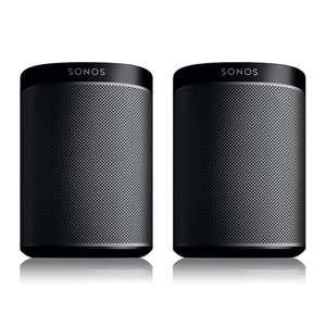 Sonos PLAY:1 Zwart (2-pack)