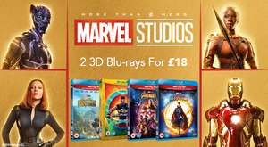 Zoom Marvel DVD / (3D) Blu-ray / UHD actie