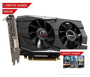 ASRock Phantom Gaming D Radeon RX580 8G OC + 2 Spellen @ Megekko