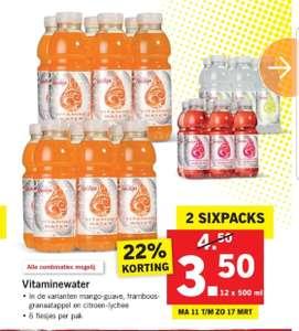 Vitaminewater 12x0.5 Liter ( Lidl )