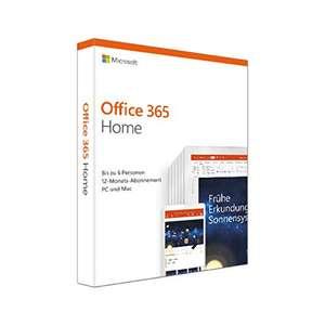Microsoft Office 365 Home - 6 Users @Amazon.de