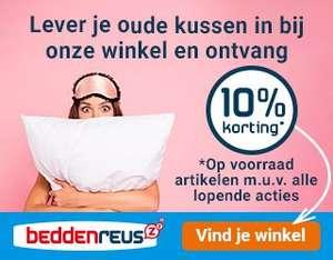 Beddenreus.nl - 10% korting met jouw oude kussen