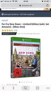 Far cry new dawn limited edition voor Xbox one en PS;