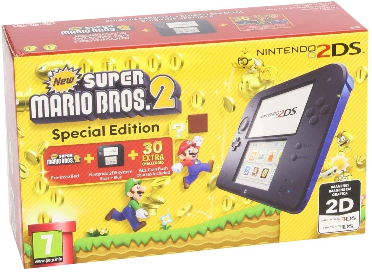 Nintendo 2DS - Super Mario Bros 2