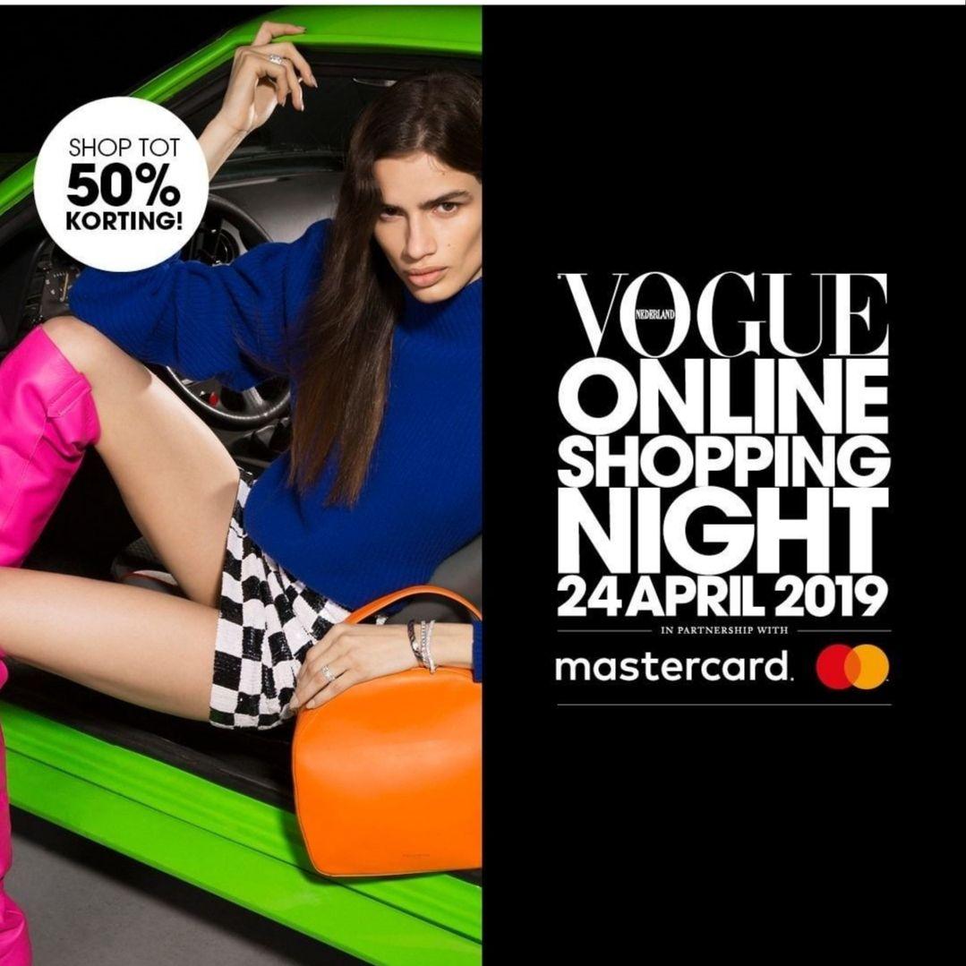 Vogue Shopping Night: tot 50% korting bij verschillende winkels