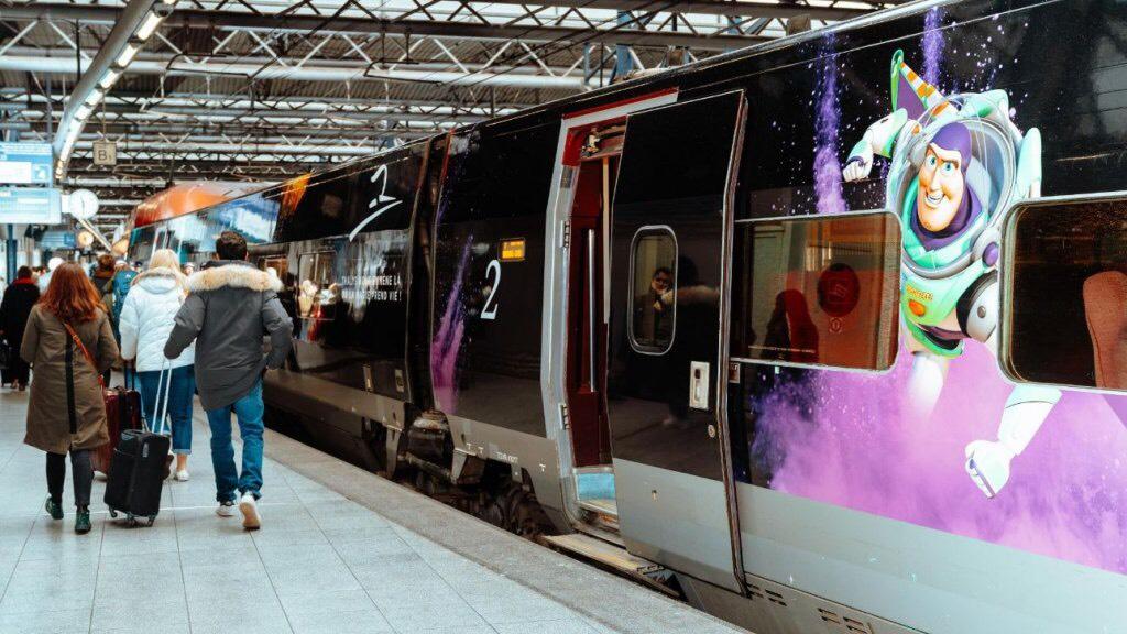 Amsterdam - Disneyland Parijs (Thalys) €25 In Juli & Augustus