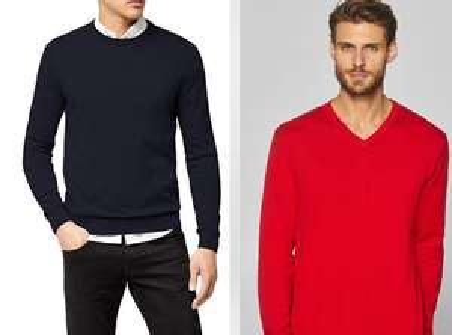 ESPRIT - Pullover ronde & V-hals (6+ kleuren)
