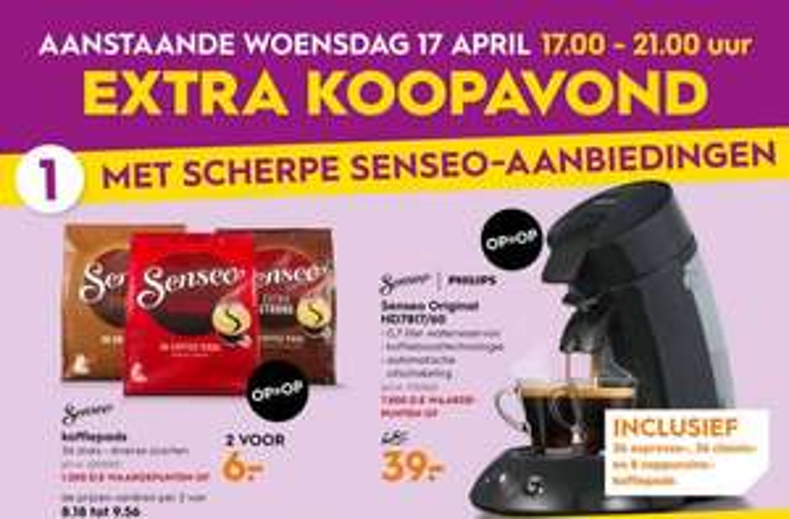 Philips SENSEO® koffiepadmachine HD7817/60 - zwart incl. 80 koffiepads