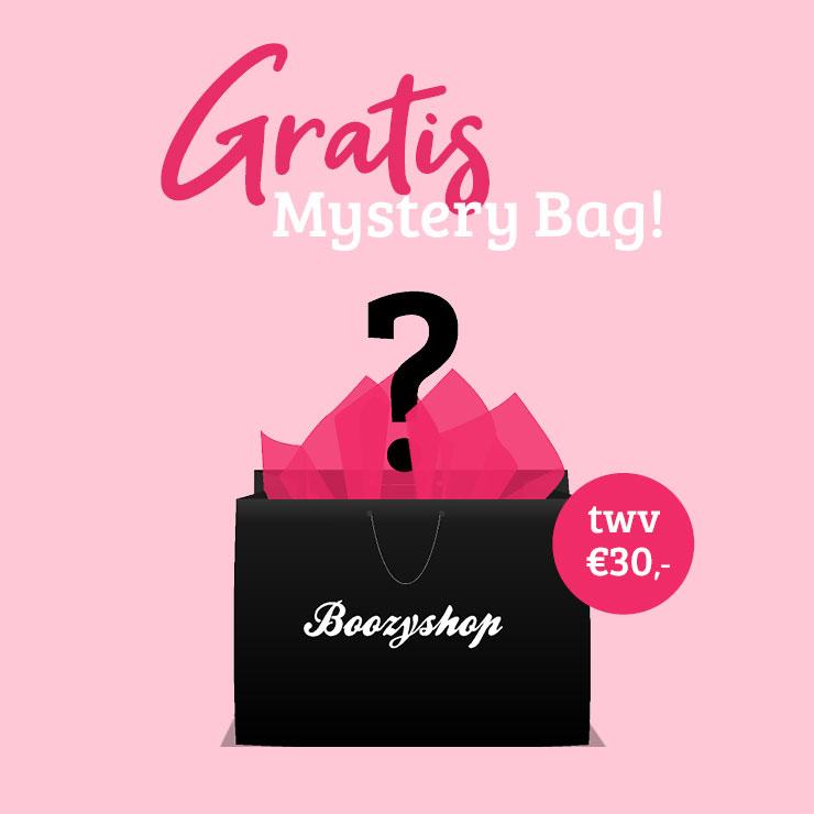 Gratis Mystery Bag t.w.v. €30 (va €35) @ Boozyshop