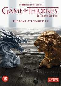 Game of Thrones Seizoen 1-7 voor € 54,99 (DVD) / € 59,99 (Blu-Ray) bij Bookspot.nl