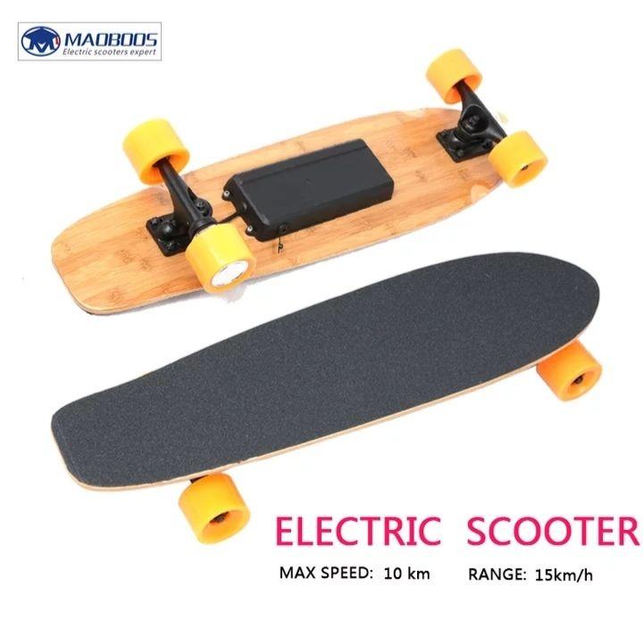 Electrisch Skateboard. Aliexpress. Vanuit spanje!